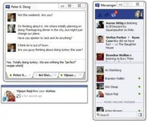 mesela 300x247 Facebook Messenger Hizmete Girdi