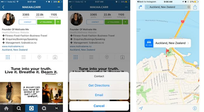 instagram isletme sirket profil sayfasi 1 Instagram İşletme Hesabı